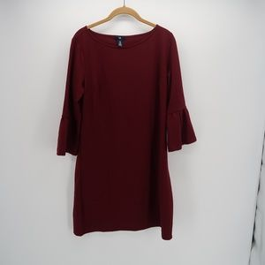 Gap Scoop Neck 3/4 Bell Sleeve Tunic Top Blouse